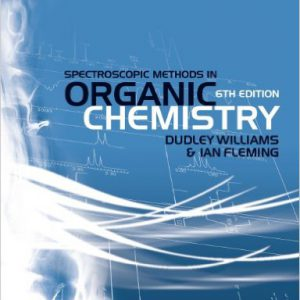 Spectroscopic Methods in Organic Chemistry 6th Edition by Dudley H. Williams, Ian Fleming