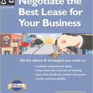 گلوبایت - www.globyte.ir-Negotiate the Best Lease for Your Business Paperback – August 1, 2005 by Janet Portman, Fred S. Steingold