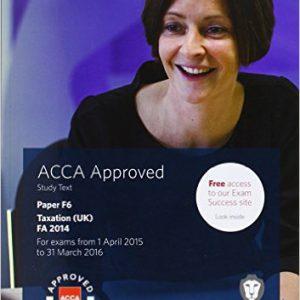 ACCA F6 Taxation FA2014 Study Text – ۲۰۱۴