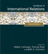 Handbook of International RelationsbyWalter E. Carlsnaes, Beth A. Simmons, Thomas Risse-گلوبایت کتاب-www.Globyte.ir