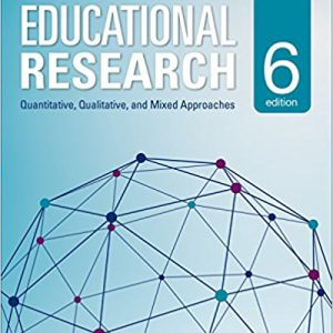 Educational Research-Quantitative, Qualitative, and Mixed Approaches 6th Editionby R. Burke Johnson, Larry B. Christensen-گلوبایت کتاب-www.Globyte.ir