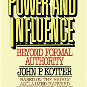 Power and Influence Paperback – October 7, 2008by John P. Kotter-گلوبایت کتاب-www.globyte.ir