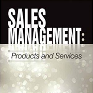 Sales Management-Products and Servicesby Jae K. Shim-گلوبایت کتاب-www.Globyte.ir