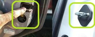 ریگلاژ درب خودرو
